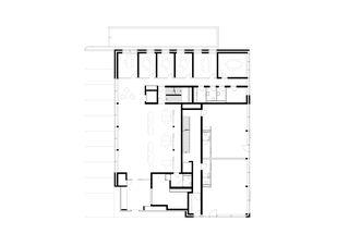 rez-de-chaussée Raiffeisenbank de Jüngling Hagmann Architekten