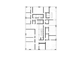 1. Obergeschoss Raiffeisenbank von Jüngling Hagmann Architekten