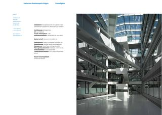 Brochure de Swisscom Businesspark Ittingen Swisscom Business Park de Atelier 5 Architekten und Planer AG
