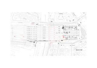 Ebene 0 Bahnhof Löwenstrasse von Dürig AG, Architekten