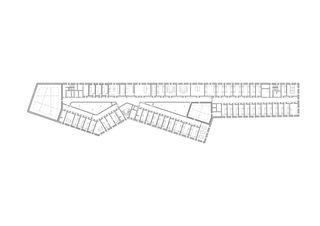4e étage Strafjustizzentrum de Architekten ETH SIA BSA Kunz und Mösch GmbH