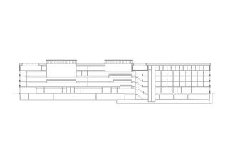 Coupe Strafjustizzentrum de Architekten ETH SIA BSA Kunz und Mösch GmbH