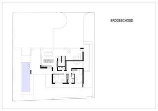 Grundriss EG Einfamilienhaus Rausch von beat schneider architektur GmbH