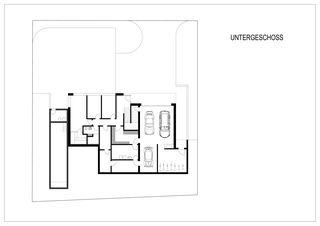 Grundriss UG Einfamilienhaus Rausch von beat schneider architektur GmbH