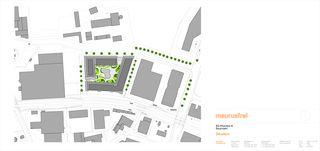 Situation Rheinfels III von maurusfrei Architekten AG