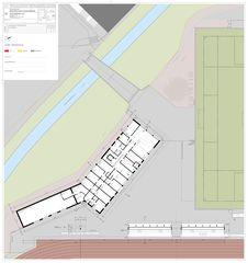 Grundriss Sportanlagen Meierwiesen von SRT Architekten AG