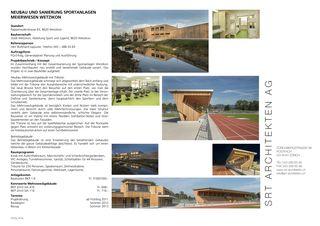 Publikation Sportanlagen Meierwiesen von SRT Architekten AG