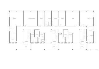 Rez-de-chaussée Schulanlage Pünten de ZANGGER ARCHITEKTUR