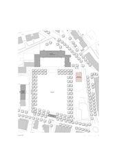 Situation Renovation und Erweiterung Oberstufenschulhaus Quader: Erweiterungsbau  von SCHWANDER & SUTTER, dipl. Architekten FH  GmbH