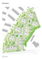 Plan de situation Riedmühlepark de ADP Architektur Design Planung AG