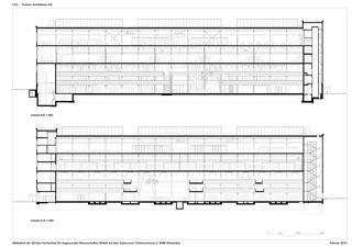 Längsschnitte ZHAW BIBLIOTHEK von P&B Partner Architekten AG