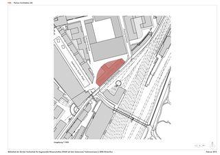 Situationsplan ZHAW BIBLIOTHEK von P&B Partner Architekten AG
