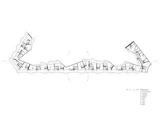 Grundriss 4. Obergeschoss VoltaMitte von Christ & Gantenbein AG