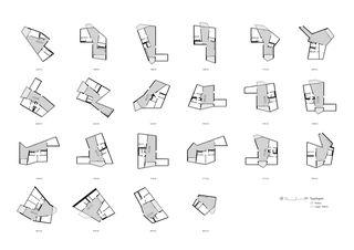 Typologies de logements VoltaMitte de Christ & Gantenbein