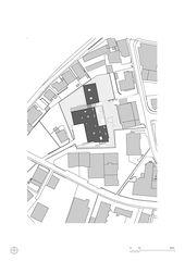 Situation 1:1000 Residenza al Parco von Michele Arnaboldi Architetti Sagl