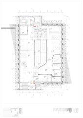 Grundriss du 4e étage Nestlé System Technology Centre von Concept Consult Architectes