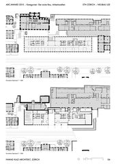 FKA_LEE_04_Plans ETH Zürich - Neubau LEE  de Fawad Kazi Architekt GmbH