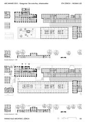 FKA_LEE_05_Plans ETH Zürich - Neubau LEE  de Fawad Kazi Architekt GmbH