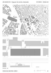 FKA_LEE_01_Plans de situation ETH Zürich - Neubau LEE  de Fawad Kazi Architekt GmbH