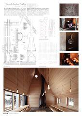 Forsthaus Details Feuerstelle Forsthaus Chopfholz  von GOA Gerber Odermatt Architekten