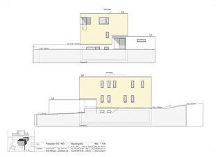 Fassaden Südost, Nordost Minergie-Wohnhaus Gipf-Oberfrick von Architekturbüro André Schär Dipl. Arch. FH
