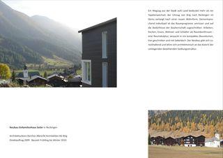 Dokumentation Neubau Einfamilienhaus Seiler von Albrecht Architekten AG