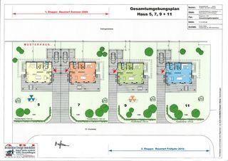 Plan de situation Einfamilienhaus-Überbauung de A-D-I  Architektur-Design-Immobilien