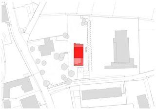 situation Villa Schuler von Andrea Pelati Architecte