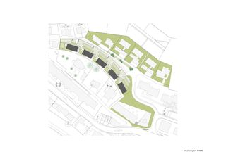 Situation  Terrassenhäuser Lake Side Schindellegi de DNSarchitekten GmbH