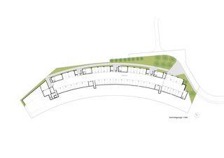 plan niveau 0 Terrassenhäuser Lake Side Schindellegi de DNSarchitekten GmbH