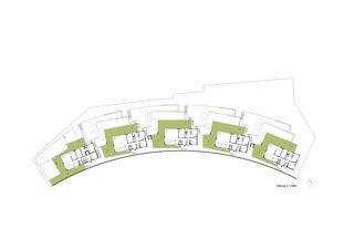 plan niveau 3 Terrassenhäuser Lake Side Schindellegi de DNSarchitekten GmbH