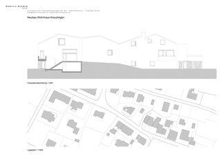 coupe Neubau EFH Kreuzlingen de Dominic Schmid GmbH