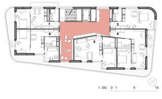 OG1 Gemeinschaftswohnhaus 50+ von Haerle Hubacher Architekten BSA