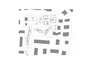 Plan de masse Cattaneo - Neubau und Umnutzung ehemaliges Industrieareal de Holzer Kobler Architekturen (Barbara Holzer und Tristan Kobler)