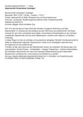 Schnitt Haus 3 Alpwirtschaft Ochsenfeissi Sonnegg von Röösli Architekten AG