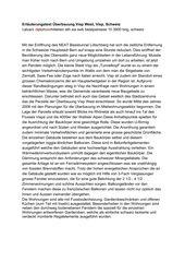 Projektbeschrieb Überbauung Visp West von Balzani Diplomarchitekten ETH SIA SWB