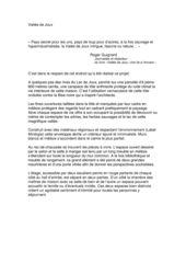 Description Habitation écologique (Minergie) von Atelier d'architecture Ralph Germann
