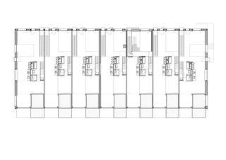 Grundriss Obergeschoss Alti Sagi Innerberg von GWJARCHITEKTUR AG