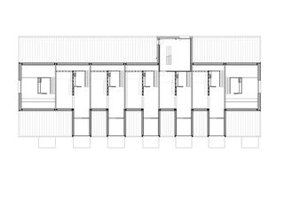 Grundriss Dachgeschoss Alti Sagi Innerberg von GWJARCHITEKTUR AG
