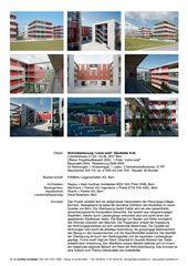 Projektdokumentation Wohnüberbauung 'come west' - Baufelder 8+9 Brünnen von R. + A. Gonthier Architekten BSA SIA FSAI SWB