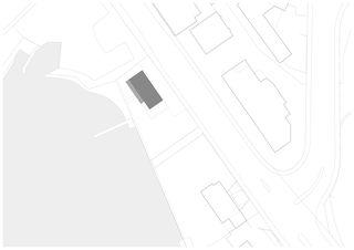 Situation M1:250 Wohnhaus am See von m3 Architekten AG  |  Dipl. Arch. ETH/SIA