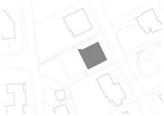 Situation M1:250 Mehrgenerationenhaus von m3 Architekten AG  |  Dipl. Arch. ETH/SIA