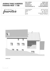Westfassade Umbau Heustall S-charl von Architectura Feuerstein