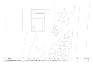 1. OG A4 1/200 An der Autobahn von sas specific architectural solutions Ginggen, Locher, Winthrop