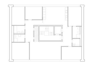 Plan 1er et 3e étage Wohnhaus Bonifacius de Degelo Architekten BSA SIA AG
