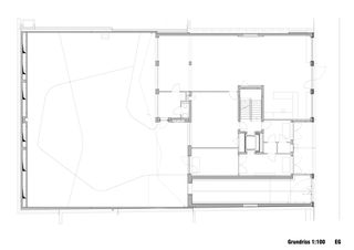 Grundriss EG Neubau Rotkreuzhaus von Forsberg Architekten AG
