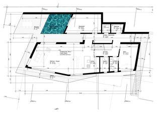 Erdgeschoss EFH Tannenbühl von ar3 Architekten AG
