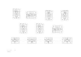 Grundriss 2. OG Gesamtanlage Siedlung Frohheim, Zürich-Affoltern von Müller Sigrist Architekten AG / EM2N Architekten AG, Zürich