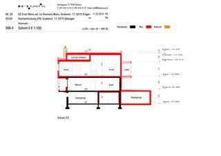 Coupe E-E Haus Weiss, Oberägeri de B+B Planer AG