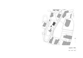 Situation EFH Halde mit Atelier de Albertin Partner Architekten